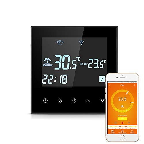 Eleganantstunning Smart WiFi Thermostat programmierbarer Touchscreen Temperaturregler für elektrische Heizung -