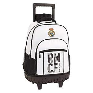 41oYHqeph2L. SS300  - Real Madrid CF niños Equipaje, Blanco, XL