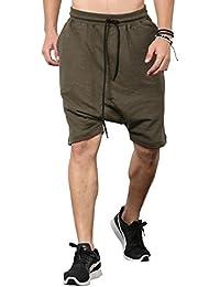 SKULT Men Olive Shorts