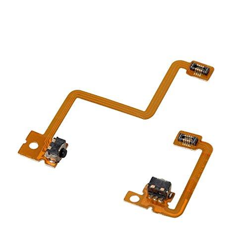 eJiasu L/R Schalter Schulter Trigger Schaltfläche Ersatz Reparatur Interne Flex Ribbon Kabel für Nintendo 3DS Controller (1set)