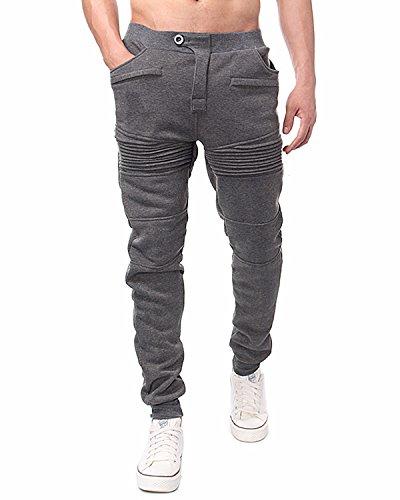 styledome-herren-hose-soft-pants-sport-baumwolle-lange-jogging-cargo-schwitzhose