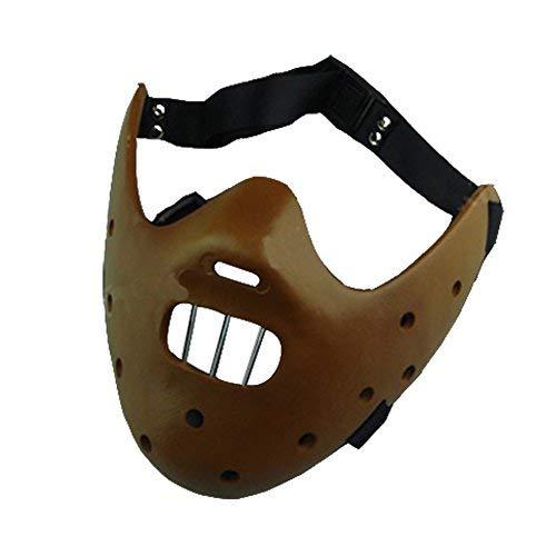 r Hannibal Cosplay Maske Braun Ver ()