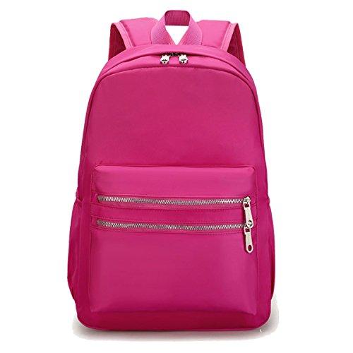 Ragazza Oxford Stoffa Spalle Tela Moda Università Vento Borsa Da Viaggio Borsa Di Scuola Pink