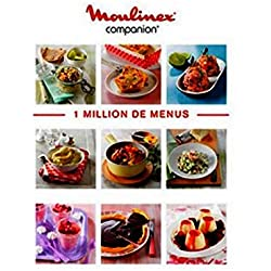 Livre 1 million de menus Robot Companion Moulinex (MS-8080014510)