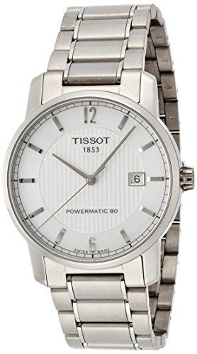 Tissot Reloj Analógico para Unisex Adultos de Automático con Correa en Titanio T087.407.44.037.00