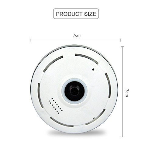 ke-ec11-i6 Indoor IP Kamera Wifi, Unterstützung 128 GB TF (Micro SD) Karte, Dome WiFi Kamera, 3D High-Definition Video, Screenshots, Home Überwachungskamera System