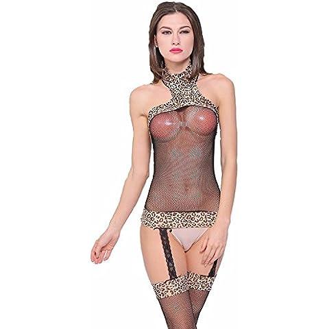 Sexy Lingerie garter nera dal distacco di