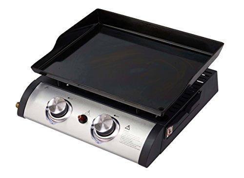 Barbecue grill portatile a gas qlima fpg102 nero 5000 watt - portable gas grill