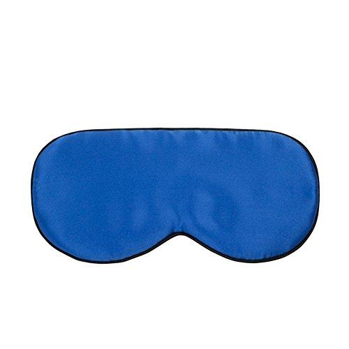 Yiiquan Masque des Yeux pour Dormir Soie Ultra-Douce Masque de Sommeil Marine Taille unique