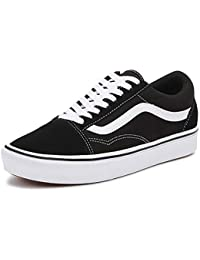 7652a98b38fab Vans UA ComfyCush Old Skool Black True White Suede Adult Trainers