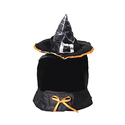 idung Halloween verkleiden Hexe Cosplay Haustier Kleidung ()
