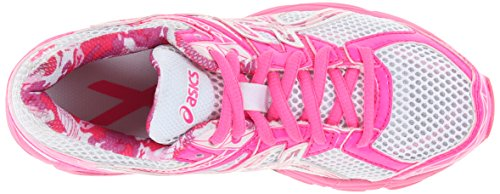 Asics Gel-Contend 2 GS Synthetik Laufschuh White/Hot Pink/Pink Ribbon