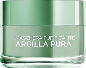 L'Oréal Paris Argilla Pura Maschera Viso Purificante, 50 ml
