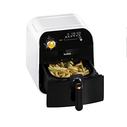 Tefal Fry Delight FX100015 - Freidora sin Aceite de 1400 W, 4 Modos de Cocción, para Freir, Grill, Asar y Hornear, Temporizador 30 Min, Cocina Sana, para hasta 800 Gramos de Alimento, Evita Mal Olor