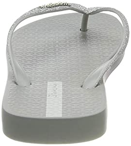 Ipanema Damen Lolita III FEM Zehentrenner, Grau (Grey/Silver), 35/36 EU