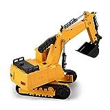 Auto Modello SXZHSM Macchinina, Escavatore Giocattolo per Bambini, Macchina di ingegneria Manuale, Modello di Auto, Giocattolo, Collezione Regalo