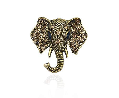 t Elefant Brosche Persönlichkeit Tier Legierung Brosche Pin Semplin Zinn Kleid ()