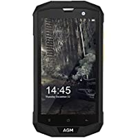 Phone EU, AGM A8 4GB RAM + 64GB ROM 5.0 '' Teléfono HD y teléfono Desbloqueado IP68 MSM8916, Quad Core, Cámara 13.0MP, Batería 4050mAh Portátil Teléfono Móvil NFC OTG