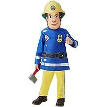 Rubies Fireman Sam - Traje de bombero para niños, 2-3 años