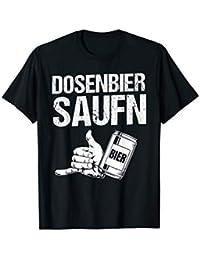 Dosenbier Saufen für Party T-Shirt