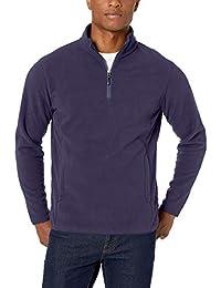 Amazon Essentials Herren Quarter-Zip Polar Fleece Jacket