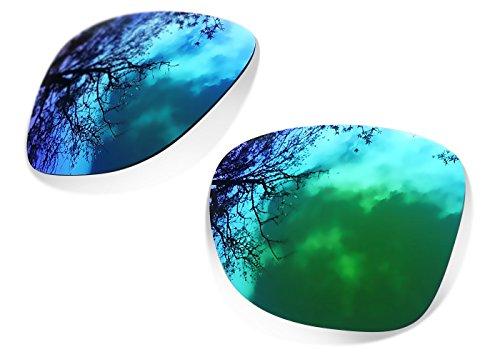 sunglasses restorer Custom SR Ersatzgläser für Oakley Dispatch 2 (Polarized Sapphire Green Gläser)