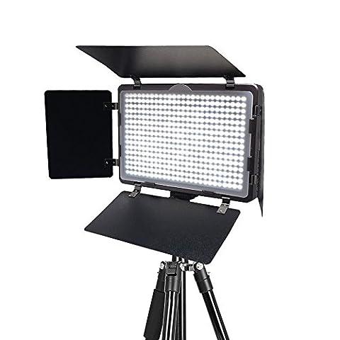 Mcoplus® LED-410A CRI95 + ultra-mince Studio photographie vidéo LED d'éclairage pour Canon Nikon Pentax Panasonic Sony Samsung Olympus reflex numérique