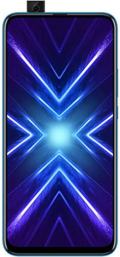 HONOR 9X Phantom Blue - Smartphone Bundle (6,59 Zoll Display, 128 + 4 GB) + 48MP AI Triple-Kamera + 16MP Pop-up Frontkamera + gratis HONOR Classic Earphones [Exklusiv bei Amazon] - Deutsche Version