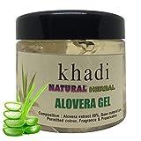 Khadi Natural Herbal Alovera Gel For Skin And Hair (White) 180g