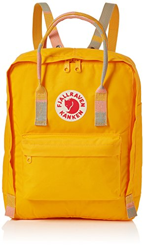 Fjällräven 2018 Sac à dos loisir, 45 cm, 30 liters, Jaune (Warm Yellow-Random Blocked)