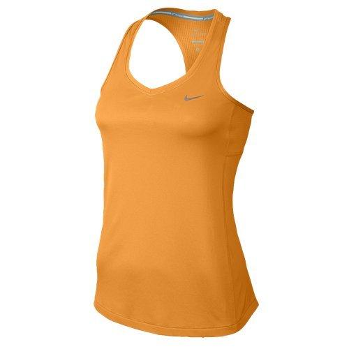Nike Women's Miller Tank Top, Orange, M - Miller Tank