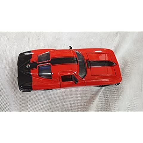 1/24 JADA BigTime Muscle 1963 Chevy Corvette Stingray Coupe Red NO.90218 by JADA