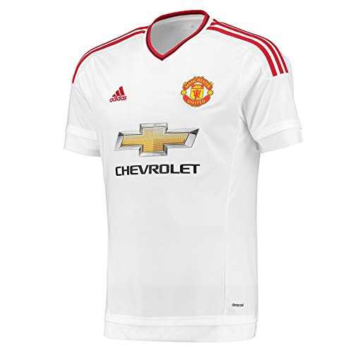 adidas MUFC A JSY Y - T-Shirt for Children  White Red  White Red  8 Years