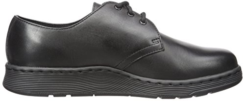 Dr.Martens Mens Cavendish 3-Eyelet Leather Shoes Black