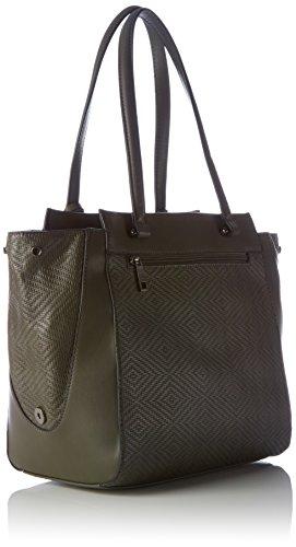 Sansibar Damen Henkeltaschen, 30x29x18 cm Grau (Grey)