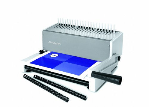 Cheapest GBC CombBind C150PRO Comb Binding Machine with Large Capacity Clipping Tray (Punch Capacity 20 Sheets, Bind Capacity 450 Sheets) Discount