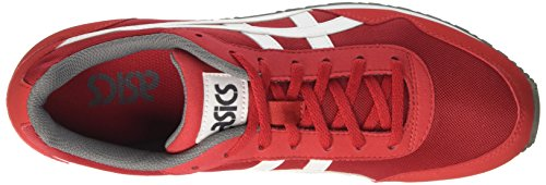 Asics Curreo, Chaussures De Sport Rouges Pour Homme (true Red / White)