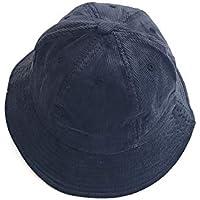 GHC Gorras y Sombreros Cubo de Pescador Estampado Negro Reversible Reversible de Moda para Mujer (Color : Azul)