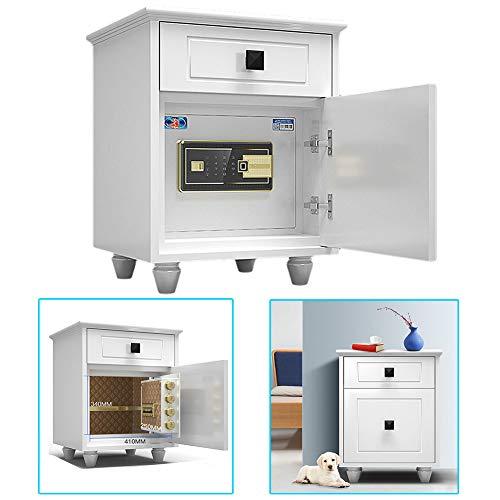 Ablea Caja Fuerte Digital para Oficina o Uso Doméstico,Huella Dactilar Desbloqueada, para...