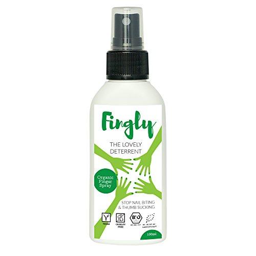 Anti Nagelkauen Spray von Fingly | Natürliches Mittel gegen Fingernägel kauen oder Finger Kauen, zum Daumenlutschen abgewöhnen | Kein Nagellack gegen Nägelkauen