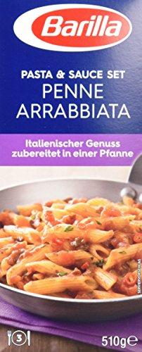Preisvergleich Produktbild Barilla Pasta & Sauce Set für Penne Arrabbiata - 1er Pack (1x510g)