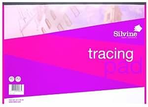 Silvine A3 tracing paper pad