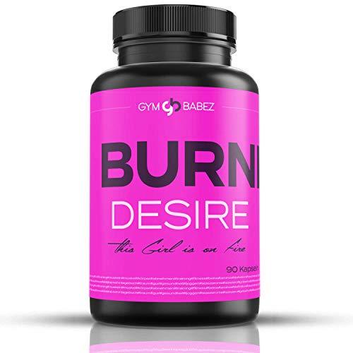 » Burning Desire - Speziell entwickelt für Frauen « Besonders Beliebt in der Diät und Hochdosiert - Hergestellt in Deutschland - 90 Kapseln - 100% Vegan