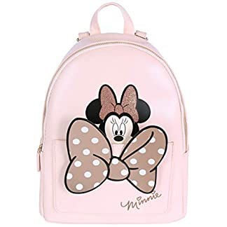 41oYdl lY%2BL. SS324  - -:- Minnie Mouse -:- Disney -:- Mochila color melocotón