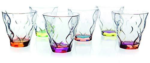 Glas Reflexionen Likör Bicolour-6Farben RCR