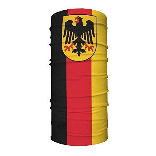 Patch Nation Deutsches Deutschland Flagge Quick Dry Headwear Outdoor Magic Bandana Hals Snood Head Wrap Stirnband Schal Gesichtsmaske Ultra Soft Elastic Kopftuch