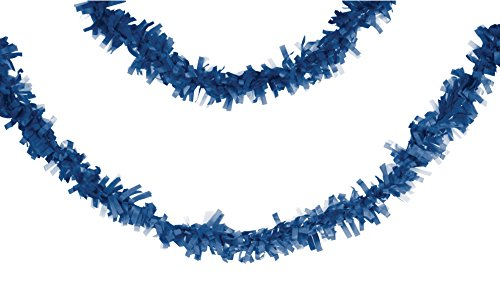 Monster Meer Kostüm - Creative Converting Tissue Garland 25' true blue