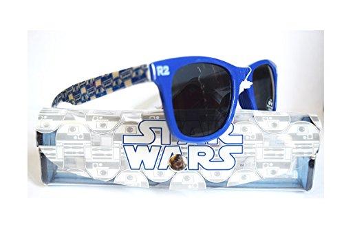 Star Wars Sonnenbrille mit Etui–offiziell Einheitsgröße Bleu - R2D2