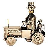 Flaschenhalter Traktor Schlepper Metall Flaschenständer Weinhalter Metallständer