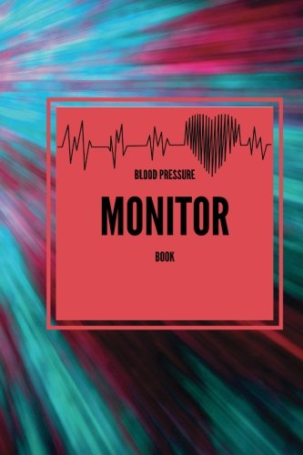 Blood Pressure Monitor Book: Pinks & Blues Portable 6